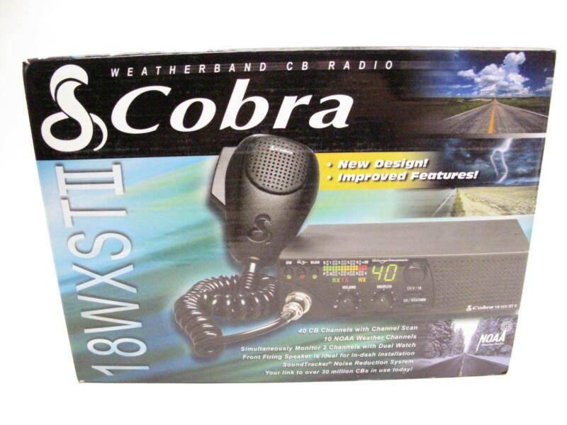 Cobra 18WXSTII 40-Channel CB Radio
