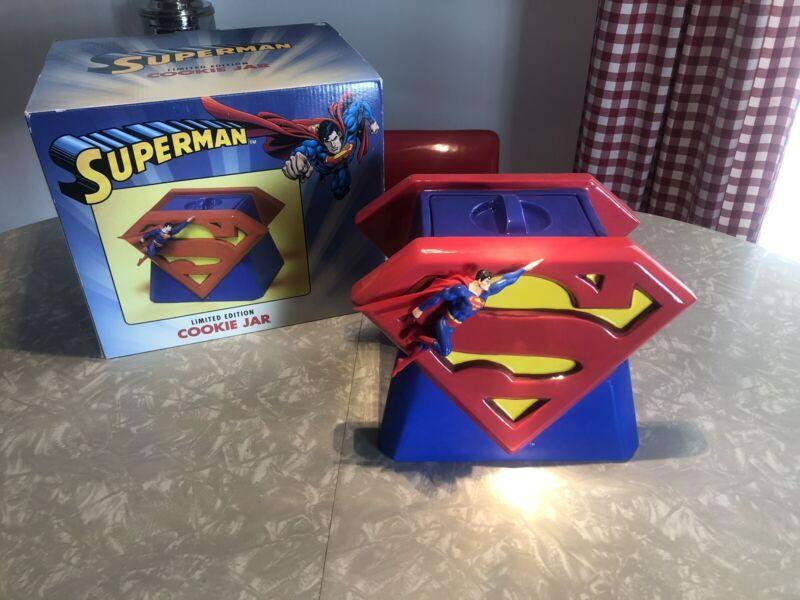 SUPERMAN COOKIE JAR LIMITED EDITION