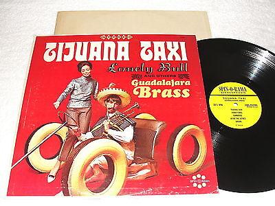 Guadalajara Brass  Tijuana Taxi  1960S Lp  Nice Nm    Stereo  Spin O Rama