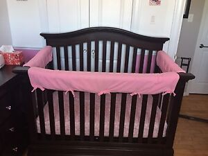 Baby cache crib/mattress/rail covers