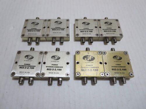 8X MECA 802-2-2.100 POWER DIVIDER COMBINER E-MECA
