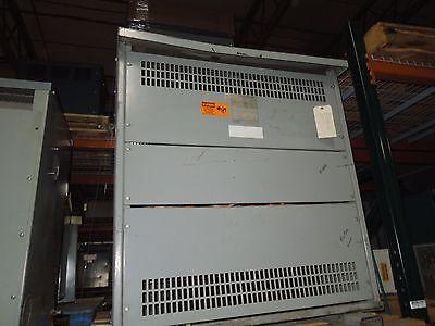 Rex 220kva 460-460y266v 3ph Dry Type Transformer K-4 Used Electrically Ok