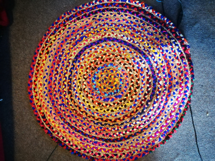 Beautiful 90cm Round Mats (Made in India)