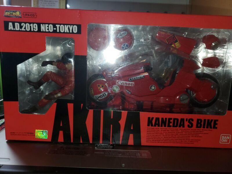 Bandai Soul Popinika PX-03 Kaneda Bike (Die-cast) AKIRA/Otomo From Japan UNUSED