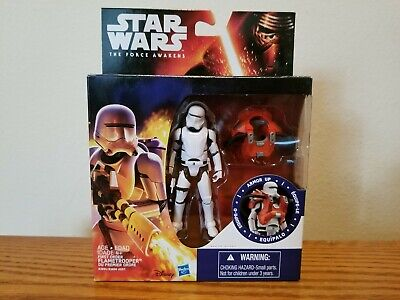 "Star Wars First Order Flametrooper The Force Awakens 3.75"" Action Figure"
