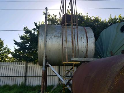 Overhead fuel tank Dingley Village Kingston Area Preview