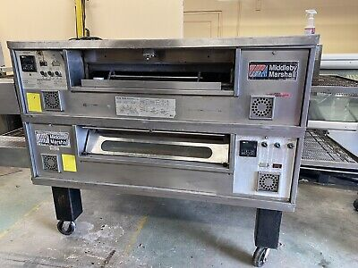Middleby Marshall Ps570g Pizza Oven Conveyor Nat Gas Untested