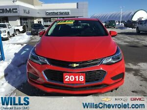 2018 Chevrolet Cruze LT|REAR CAMERA|AUTO|HEATED SEATS
