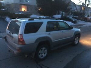 Toyota 4runner 2003 low mileage 4x4 v8