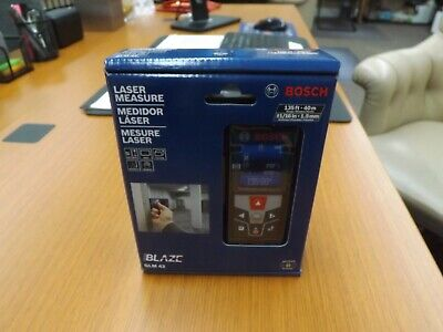 Sealed Bosch Glm 42 Blaze 135 Laser Measure Full Color Display 116 Accuracy