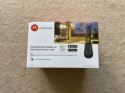 Motorola FOCUS72 WiFi Outdoor HD Camera, motion detection & infrared. BRAND NEW