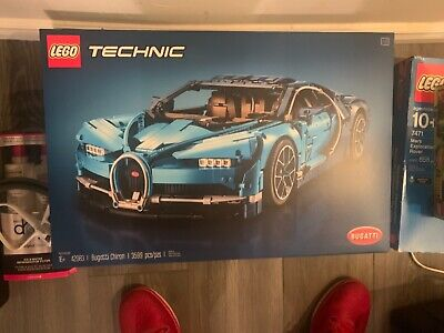 Lego 42083 Technic Bugatti Chiron Luxury Exotic Supercar Race car Replica Model