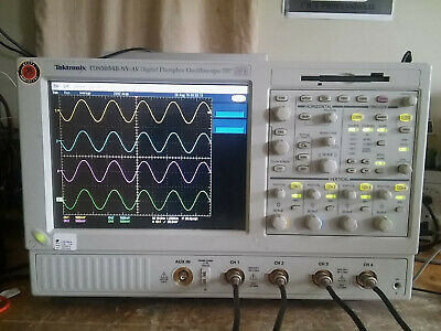 Tektronix Tds5054b 500mhz 5gss Oscilloscope With Touchscreen. Low Hours