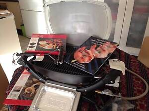 Weber Baby Q bbq with extras - Perfect for apartment living Southbank Melbourne City Preview