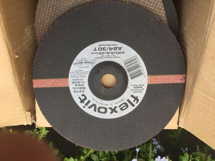 "9"" Grinding Discs, 20 off, $2 each"