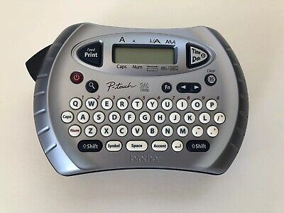 Brother Label Sticker Printer P-touch Pt-70 Gray