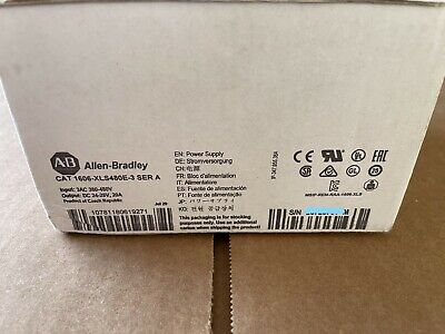 2020 New Allen Bradley 1606-xls480e-3 Ser A Power Supply