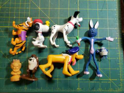 Lot Collectible Toy Figures Disney 1980