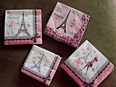 A Day In Paris Tableware; I Love Paris Theme Bridal Shower, Birthday, Shower](Paris Themed Birthday Party Decorations)