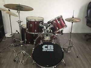 5-PC Drum Set