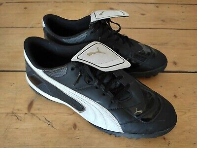 Puma King TF Astroturf Football Trainers / Boots / UK 10 / Brilliant Condition