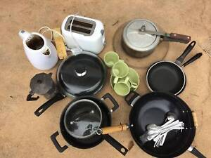 Carpet, Kitchen, Camping gear, pots,pans, TV DVD and more
