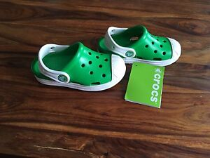 Crocs new with tags. Toddler size 9.