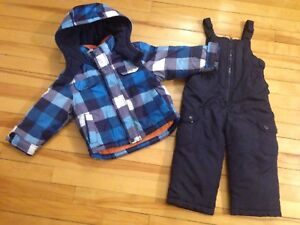 Size 3T Boy's Snowsuit