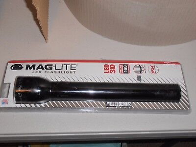 Maglite LED 3D Flashlight Black Brand New in Blister Pack