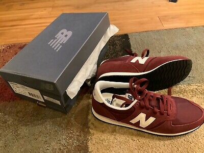 New Balance 420 burgundy - Men's Size 7.5 (Brand New)