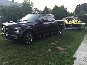 2015 fully loaded f150 xlt with dual moonroof