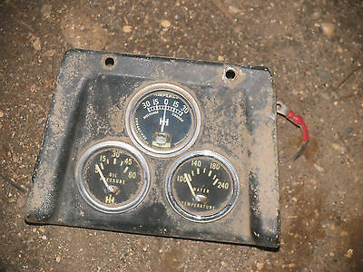 Ih International Farmall Tractor Gauges