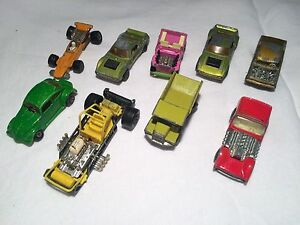 Vintage Matchbox toy cars