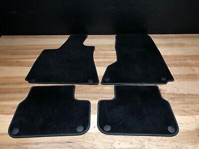 2014 Maserati Ghibli S Q4 Front Rear Carpet Floor Mats Set Black OEM