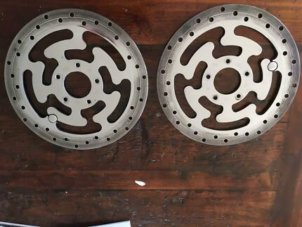 Harley Polished Brake Discs
