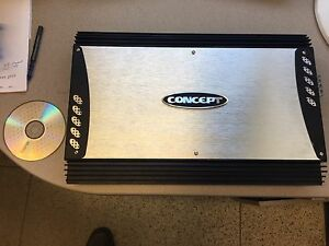 Concept audio car amplifier - CC-1004 4 channel