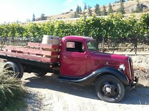 Stakebed Wine Truck