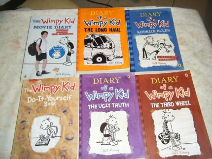 Wimpy Kid Books and Movie Dairy book