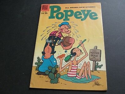 """POPEYE and the """"Black Ghosk!"""" Vol.1 #50 -1959-10 cent Silver Age Comic Book."""