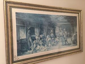 Limited Edition Signed and Framed D'Arcy Doyle Amaroo Gungahlin Area Preview
