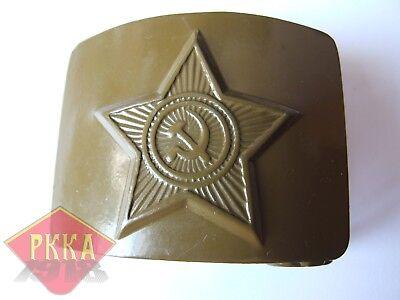 Sowjet Armee Koppelschloss Koppel Feld OLIV Sowjetunion UdSSR ORIGINAL & NEW