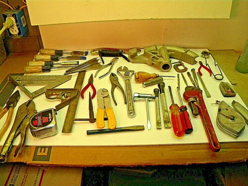 Junk Drawer Box 21A43  TOOLS, Machinist, Wood working, Home Shop,  RESELL