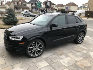 2016 Audi Q3 Technik S-Line Black Optics 20""
