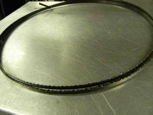 "150"" x 1/4 inch 6 tpi hook  band saw blade"
