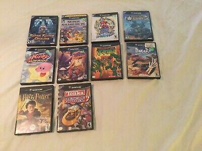 Nintendo GameCube Game Bundle - 17 games - Baten Kaitos Origins, Super Smash,etc