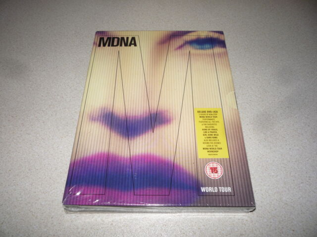 MADONNA : MDNA WORLD TOUR  DELUXE DVD + 2 CD  2013