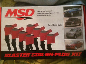 Coils on plug MSD Mustang Gt 4.6 /5.4