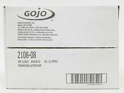 Gojo Provon Mild Lotion Soap 1000 mL 2108-08 Case of 4 Refills for NXT Dispenser 1000ml Mild Lotion Soap