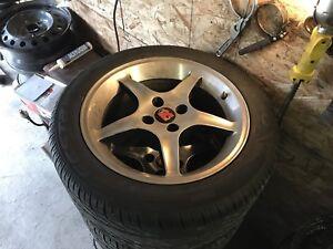 Foxbody cobra R wheels!