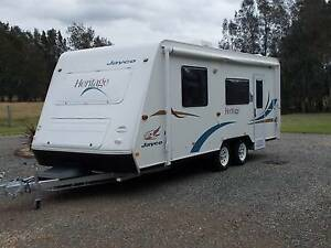 Jayco Heritage 2005 Solar / Shower / Toilet / Free Camping Set up Coomba Park Great Lakes Area Preview